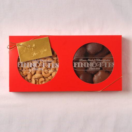 Jumbo Cashews + Milk & Dark Gators (28 oz Gift Box)
